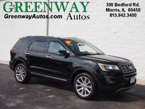 2016 Ford Explorer for sale at Greenway Automotive GMC in Morris IL