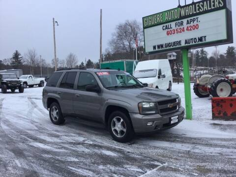 2008 Chevrolet TrailBlazer for sale at Giguere Auto Wholesalers in Tilton NH
