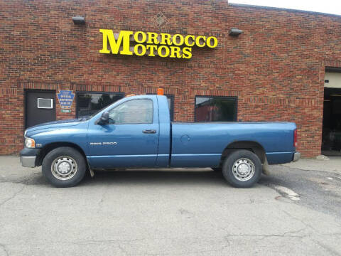 2005 Dodge Ram Pickup 2500 for sale at Morrocco Motors in Erie PA