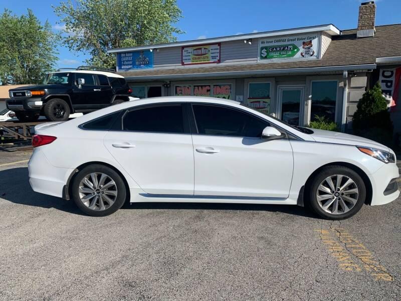 2017 Hyundai Sonata for sale at Revolution Motors LLC in Wentzville MO