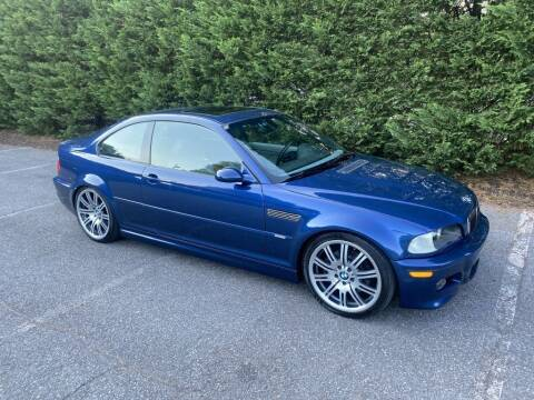 2003 BMW M3 for sale at Limitless Garage Inc. in Rockville MD
