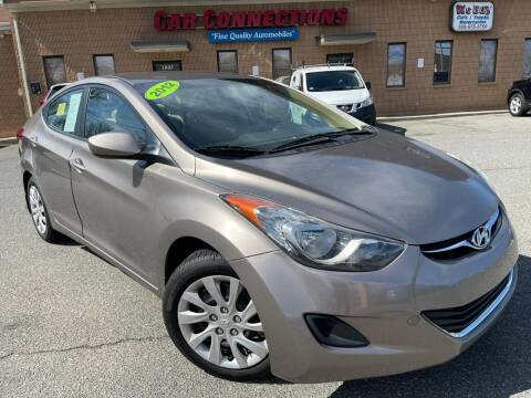 2012 Hyundai Elantra for sale at CAR CONNECTIONS in Somerset MA