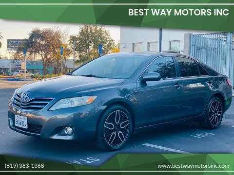 2011 Toyota Camry for sale at BEST WAY MOTORS INC in San Diego CA