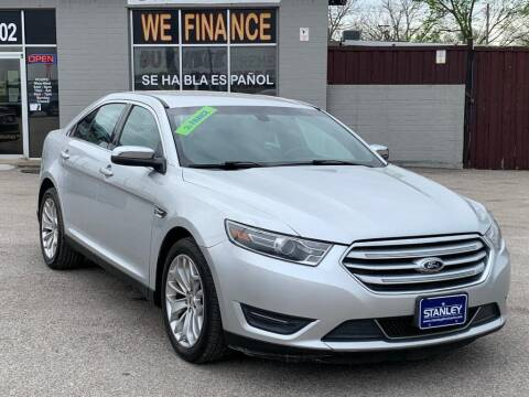 2015 Ford Taurus for sale at Stanley Automotive Finance Enterprise - STANLEY DIRECT AUTO in Mesquite TX