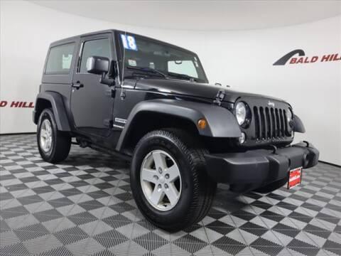 2018 Jeep Wrangler JK for sale at Bald Hill Kia in Warwick RI