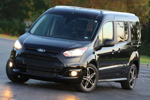 2016 Ford Transit Connect Wagon for sale at P M Auto Gallery in De Soto KS