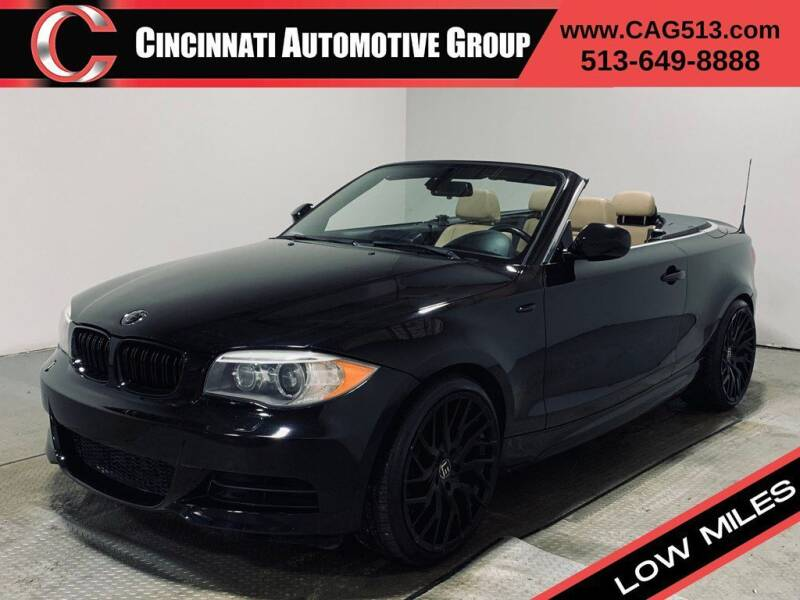 2012 BMW 1 Series for sale at Cincinnati Automotive Group in Lebanon OH