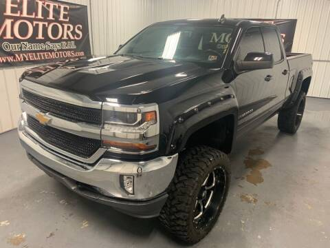 2016 Chevrolet Silverado 1500 for sale at Elite Motors in Uniontown PA