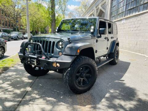 2015 Jeep Wrangler Unlimited for sale at Granite Auto Sales in Spofford NH