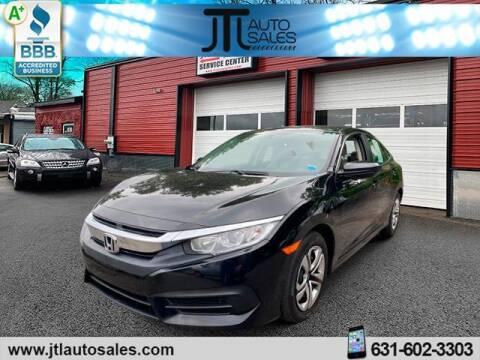 2017 Honda Civic for sale at JTL Auto Inc in Selden NY