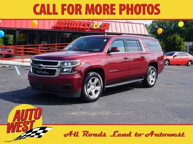 2019 Chevrolet Suburban for sale at Autowest of Plainwell in Plainwell MI