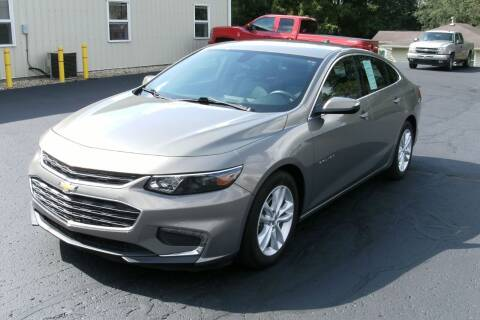 2017 Chevrolet Malibu for sale at Ritchie Auto Sales in Middlebury IN
