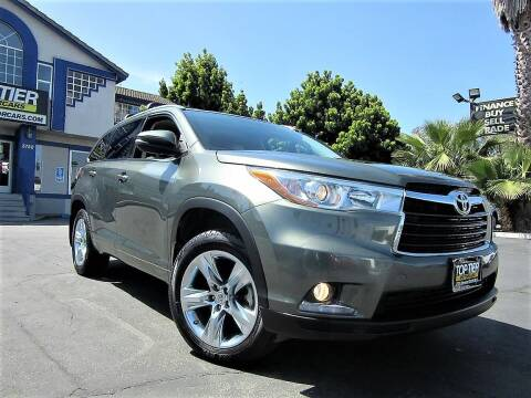 2015 Toyota Highlander for sale at Top Tier Motorcars in San Jose CA
