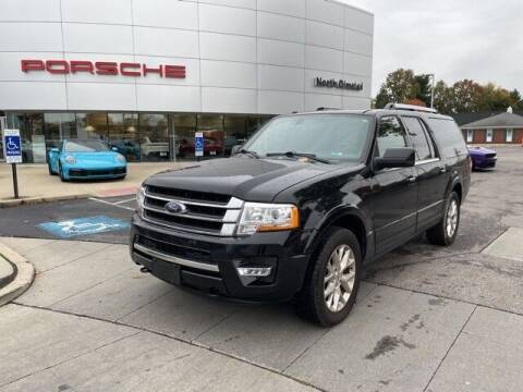 2017 Ford Expedition EL for sale at PORSCHE OF NORTH OLMSTED in North Olmsted OH
