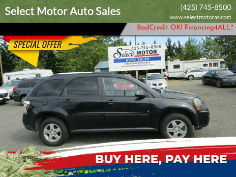 2008 Chevrolet Equinox for sale at Select Motor Auto Sales in Lynnwood WA