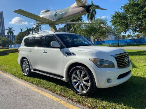 2012 Infiniti QX56 for sale at BIG BOY DIESELS in Ft Lauderdale FL