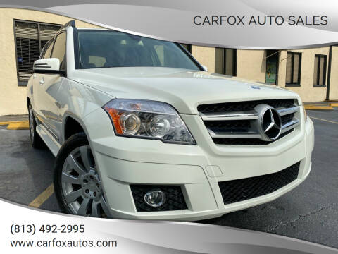 2010 Mercedes-Benz GLK for sale at Carfox Auto Sales in Tampa FL