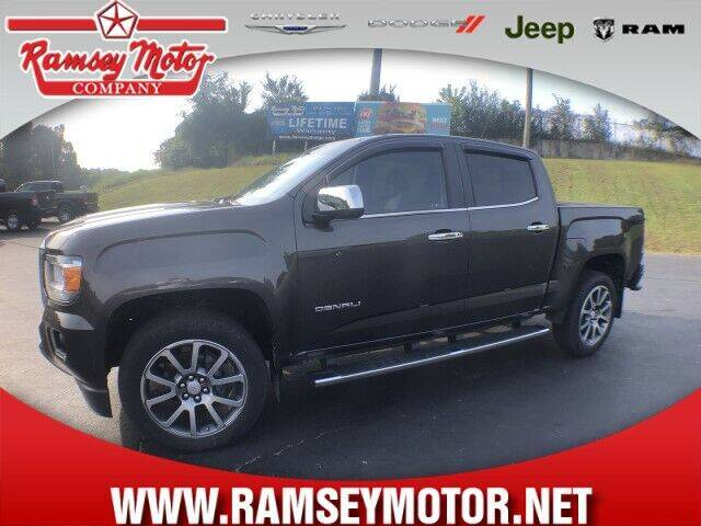 2019 GMC Canyon for sale at RAMSEY MOTOR CO in Harrison AR