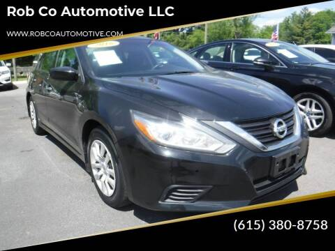 2016 Nissan Altima for sale at Rob Co Automotive LLC in Springfield TN