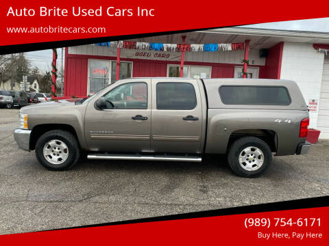 2013 Chevrolet Silverado 1500 for sale at Auto Brite Used Cars Inc in Saginaw MI