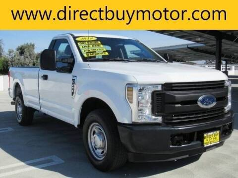 2018 Ford F-250 Super Duty for sale at Direct Buy Motor in San Jose CA