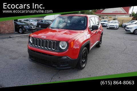 2017 Jeep Renegade for sale at Ecocars Inc. in Nashville TN
