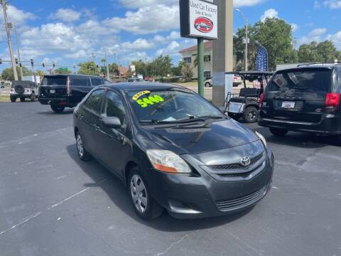 2008 Toyota Yaris for sale at Used Car Factory Sales & Service in Port Charlotte FL