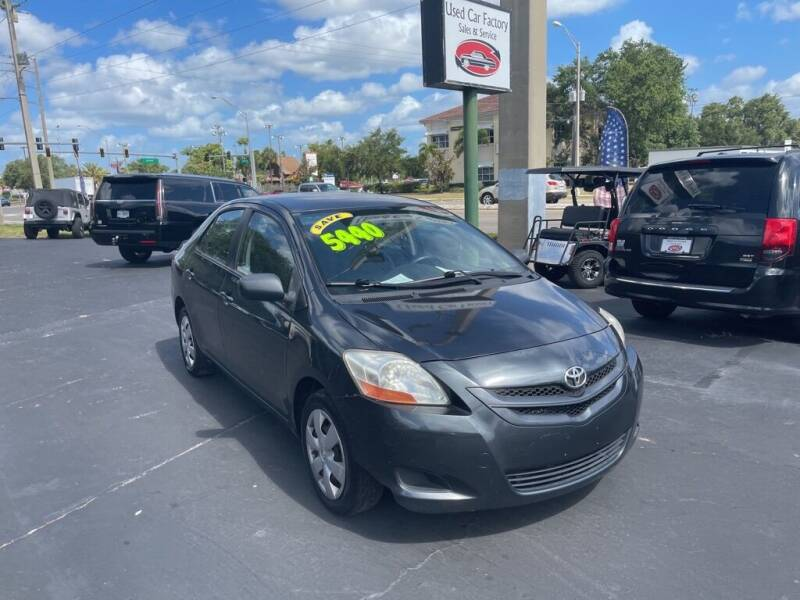 2008 Toyota Yaris for sale at Used Car Factory Sales & Service in Bradenton FL