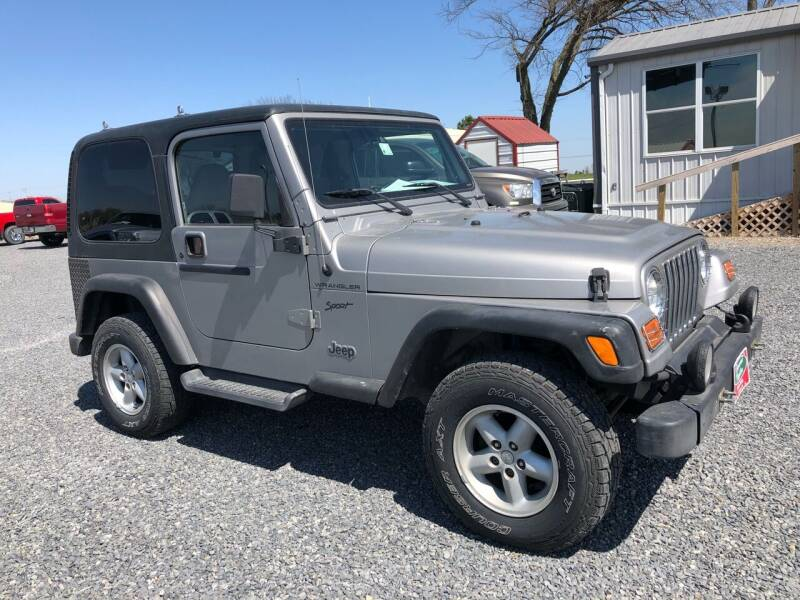 2002 Jeep Wrangler for sale at RAYMOND TAYLOR AUTO SALES in Fort Gibson OK