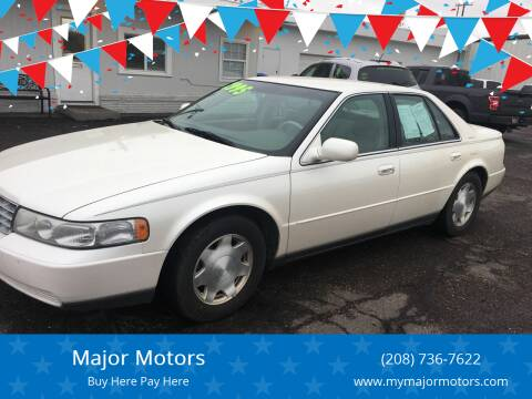 1999 Cadillac Seville for sale at Major Motors in Twin Falls ID