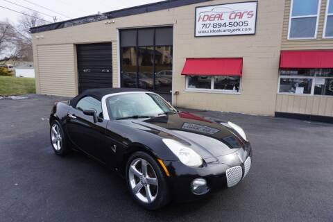 2007 Pontiac Solstice for sale at I-Deal Cars LLC in York PA