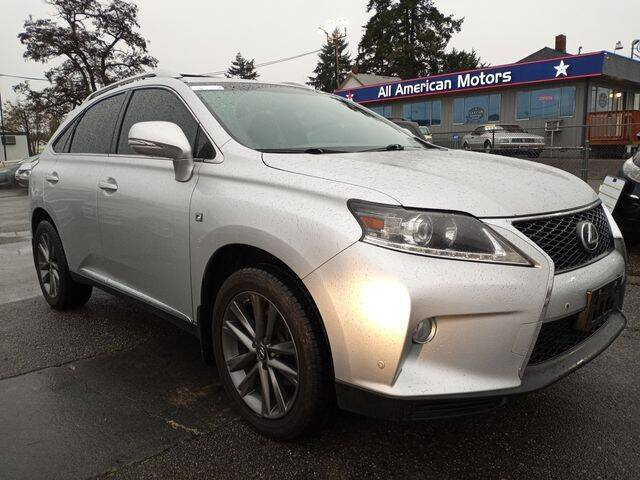 2014 Lexus RX 350 for sale at All American Motors in Tacoma WA
