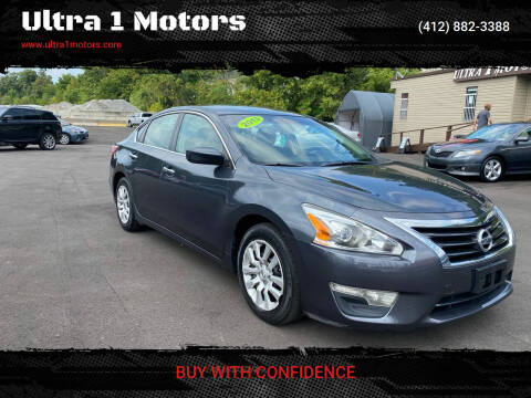 2013 Nissan Altima for sale at Ultra 1 Motors in Pittsburgh PA