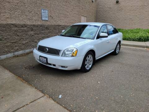 2007 Mercury Montego for sale at SafeMaxx Auto Sales in Placerville CA