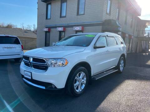 2012 Dodge Durango for sale at Sisson Pre-Owned in Uniontown PA