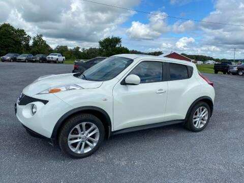 2011 Nissan JUKE for sale at Riverside Motors in Glenfield NY