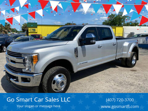 2017 Ford F-350 Super Duty for sale at Go Smart Car Sales LLC in Winter Garden FL