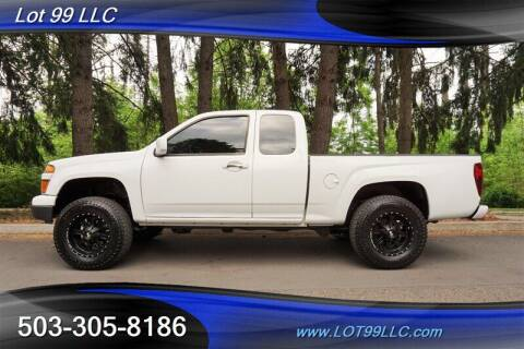 2012 Chevrolet Colorado for sale at LOT 99 LLC in Milwaukie OR