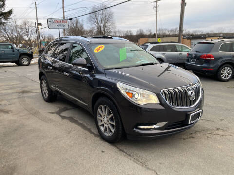 2014 Buick Enclave for sale at JERRY SIMON AUTO SALES in Cambridge NY