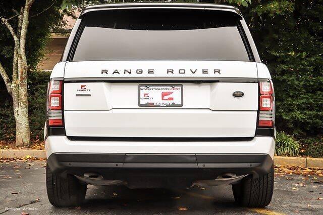 2017 Land Rover Range Rover AWD Supercharged 4dr SUV - Atlanta GA
