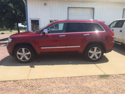 2012 Jeep Grand Cherokee for sale at Bauman Auto Center in Sioux Falls SD