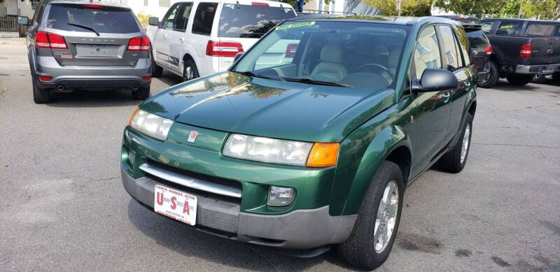2004 Saturn Vue for sale at Union Street Auto in Manchester NH