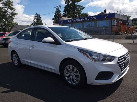 2019 Hyundai Accent for sale at All American Motors in Tacoma WA