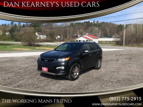 2013 Kia Sorento for sale at DAN KEARNEY'S USED CARS in Center Rutland VT