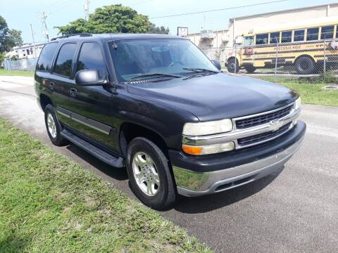 2004 Chevrolet Tahoe for sale at LAND & SEA BROKERS INC in Deerfield FL