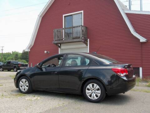 2015 Chevrolet Cruze for sale at Red Barn Motors, Inc. in Ludlow MA