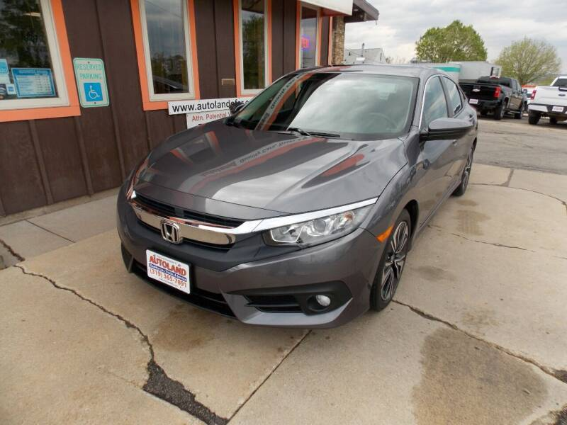 2018 Honda Civic for sale at Autoland in Cedar Rapids IA