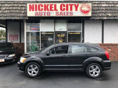 2010 Dodge Caliber for sale at NICKEL CITY AUTO SALES in Lockport NY
