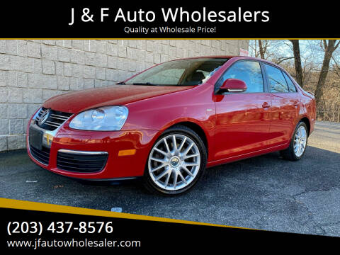 2009 Volkswagen Jetta for sale at J & F Auto Wholesalers in Waterbury CT