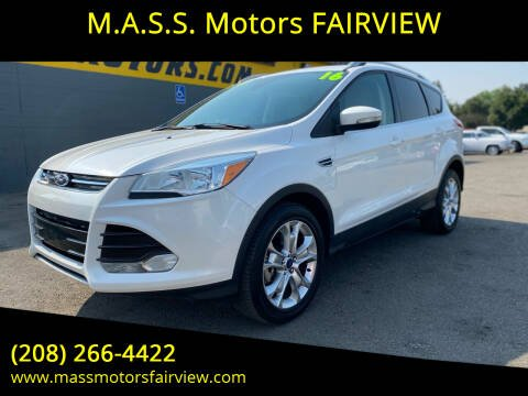 2016 Ford Escape for sale at M.A.S.S. Motors - Fairview in Boise ID